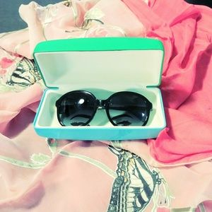 Kate Spade sunglasses and case